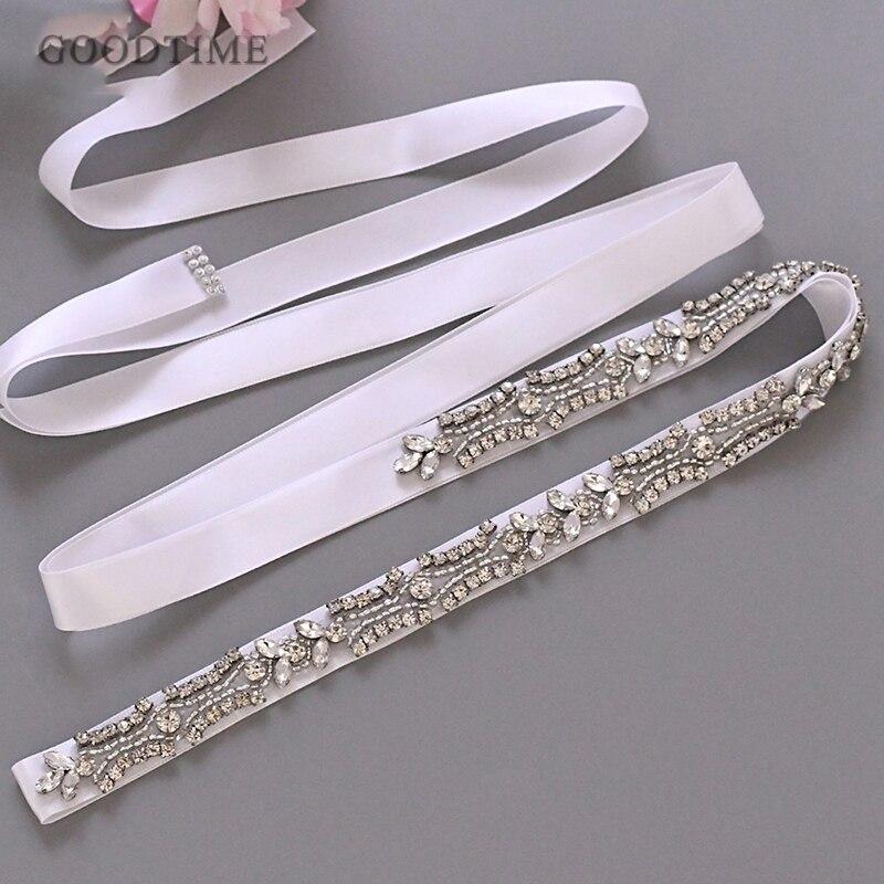 Luxury Women Belt Bridal Rhinestone Applique Crystal Belt Fashion Wedding Accessories For Girl Evening Party Dress Up