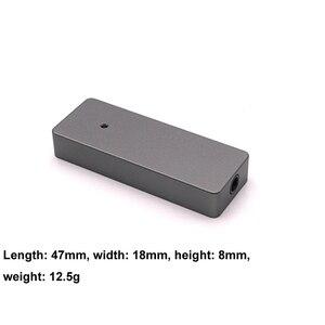 Image 5 - 8 Core silber überzogene linie Typ c Tragbare DAC dekodierung amp DSD hifi Verstärker soundkarte für Hesa Android apple PC T1115