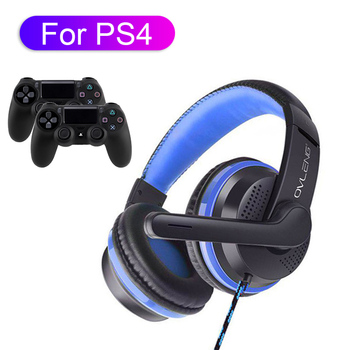 цена на High Quality For PS4 Gaming Headset PC Phone Gamer Wired Headphone With Microphone Stereo Bass Cascos With Mic 3.5 Jack Earphone