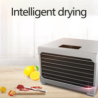 Latest Stainless Steel Fruit Dryer Food Dryer Domestic and Commercial Dehydrator Machine Kitchen Appliances
