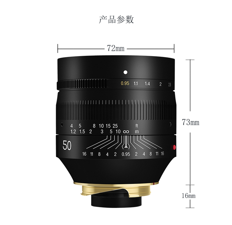 TTartisan-50mm-F0-95-Lens-for-Leica-M-Mount-Camera-Large-Aperture-for-Leica-M9-M10 (1)