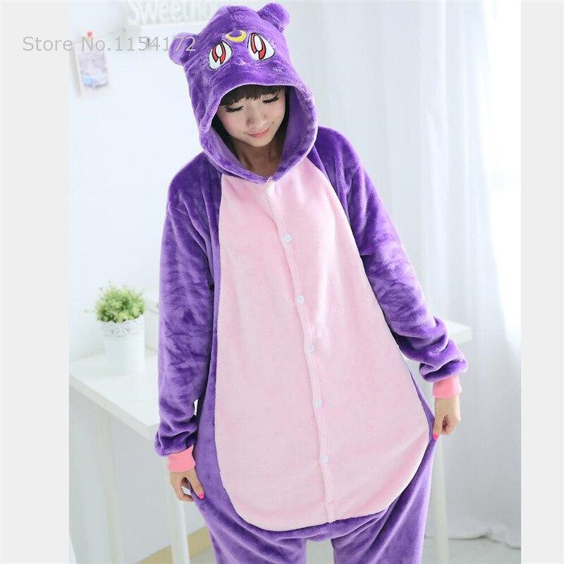 Image 3 - Kigurumi animal Pajamas Pikachu panda owl stich  Pyjama Kigurumi pijamas Zebra sleep tops costume Cosplay Onesies Robe-in Pajama Sets from Underwear & Sleepwears