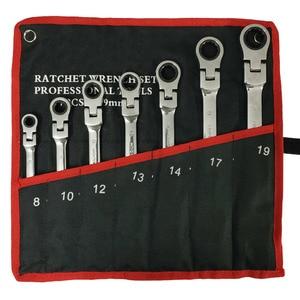 Image 3 - Multitool Wrench Ratsche Schraubenschlüssel Hand Werkzeuge Wrench Set Universal Auto Schlüssel Auto Reparatur Werkzeuge