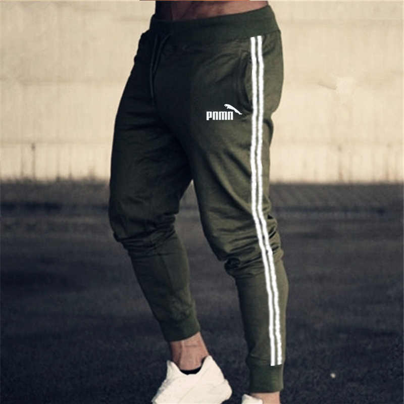 2020 남성 트랙 팬츠 조깅 스웻 셔츠 캐주얼 스키니 팬츠 체육관 피트니스 운동 브랜드 트랙 수트 남성 면화 운동복 바지