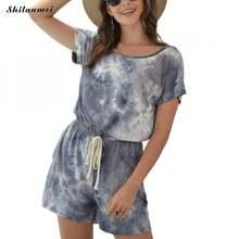 Летняя одежда для отдыха комбинезоны женские хлопковые широкие