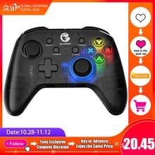 GameSir T4 Pro / T4W Gamepad 2.4 GHz Joystick do gra komputerowa z odbiornikiem USB przewodowy Gamepad do Windows (7/8/9/10) PC