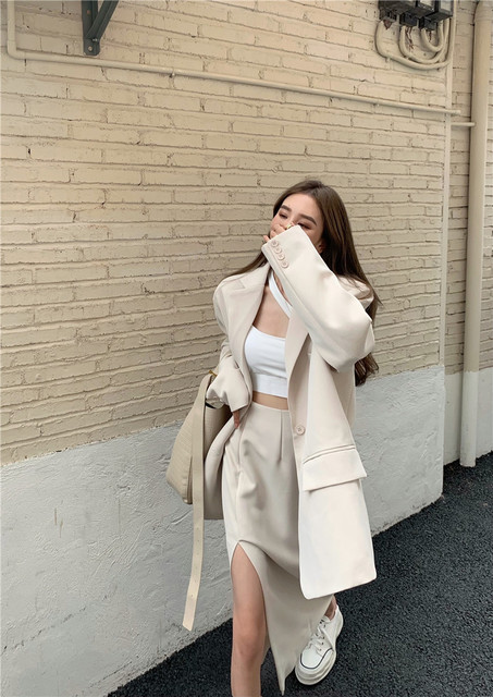 Womens Elegant Skirt Suits