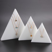 Triangle Necklace Display Stand Jewelry Showing Organizer Necklace Holder Jewelry Stands Je