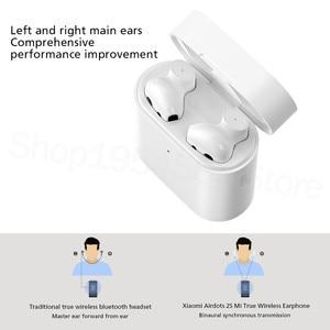 Image 3 - מקורי Xiaomi Airdots פרו 2s Mi אמיתי אלחוטי אוזניות TWS Mi אמיתי אוזניות אוויר 2s אלחוטי סטריאו שליטה עם מיקרופון דיבורית
