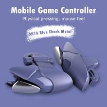 PUBG Mobile Joystick Gamepad L1 R1 Shark Metallo Mobile Controller di Gioco Pulsante di Fuoco Mobile Controller di Gioco per IPhone Gaming PUBG(China)