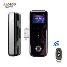 Door-Lock Sliding-Door Keyless Fingerprint Smart Biometric for Frameless-Glass-Push