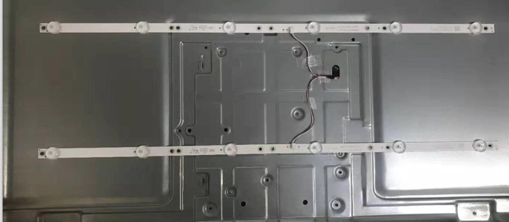 New 2 PCS/set 6LED LED Backlight Strip For For K320WDX A1 A2 4708-K320WD-A2113N01 A1113N11 A B Type