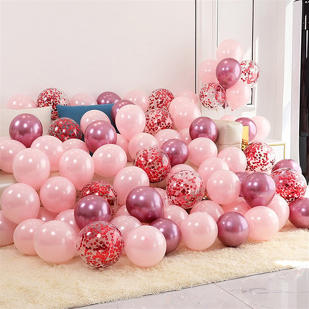 18pcs 10inch Multicolor Latex Balloons Matte Helium Globos For Wedding Decoration 14