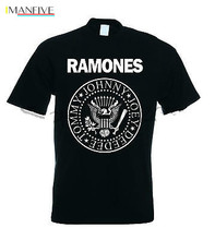 THE RAMONES T SHIRT JOHNNY TOMMY JOEY DEEDEE men black tshirt summer fashion male tee-shirt cotton tops