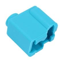V1 силиконовый носок синий для вулкана с подогревом блок J-Head Боуден/прямой экструдер блок крышка 3d принтер Часть