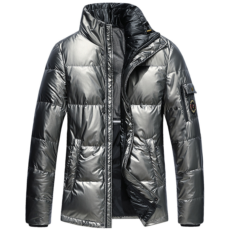 2019 Winter New Style Short Down Coat For Men Youth Thick Casual Down Jacket MEN'S Outerwear