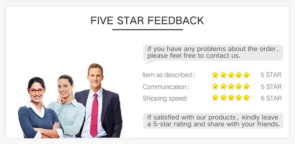 five star feedback