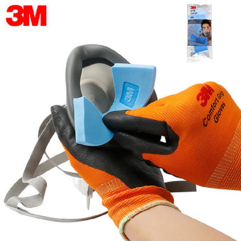 3M 389 Sweat-absorbent Pads Match With 1201/1203/3200/HF-52 Respirator Dedicated Pad Sweat Water Absorption For Half Face Mask