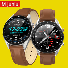 L7 L8 Bluetooth Smart Watch Men Ecg+ppg Hrv Heart Rate Blood Pressure Monitor Ip68 Waterproof Smart Bracelet Android Ios