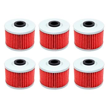 1/3/6pcs Motorcycle Oil Filter for HONDA XL250 XL250R BAJA XL 250 82-83 88-91 XLX250 83-84 XL350R 84-87 XL600L XL600R 1983-1988 image