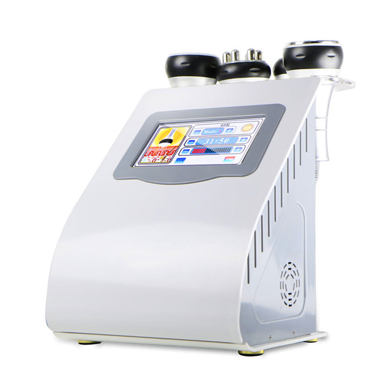 5in1 Ultrasonic Liposuction 40K Cavitation Vacuum Multipolar Bipolor RF Laser Slimming Radio Frequency SKIN BODY SALON MACHINE