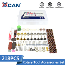 XCAN 218 pcs/set Fit Dremel Rotary tools Accessories Kit  with blue Abrasive head high quality