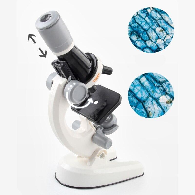 escola cientifica brinquedo educativo refinado microscopio biologico criancas 02