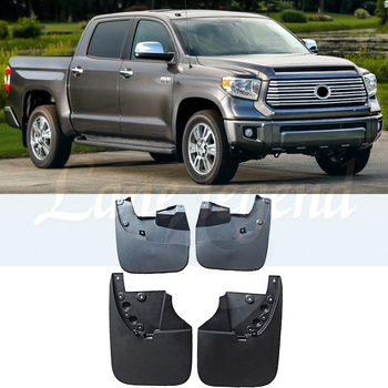 4 PCS Front Rear Car Mudflap for Toyota Tundra XK50 2014 2015 2016 2017 Fender Mud Flaps Guard Splash Flap Mudguards Accessories