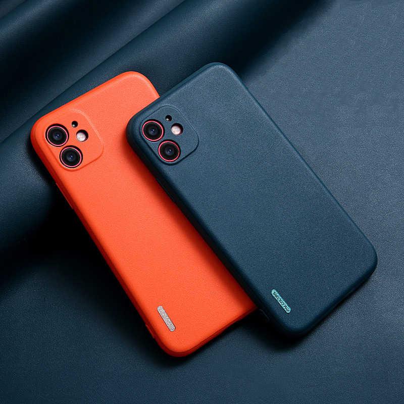 新到着超薄型電話ケース11プロマックス6 6s 7 8プラスxr x xs se 2020男性カバースキンソフトシリコンケースtpuケース高級シェル