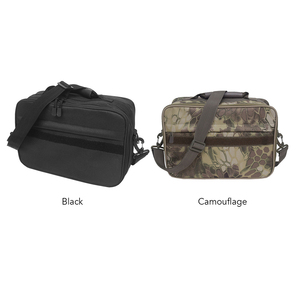 Image 5 - Fishing Tackle Bag Water Resistant oxford fabric Fishing Storage Bag Crossbody Shoulder Bag Handbag with Removable Dividers