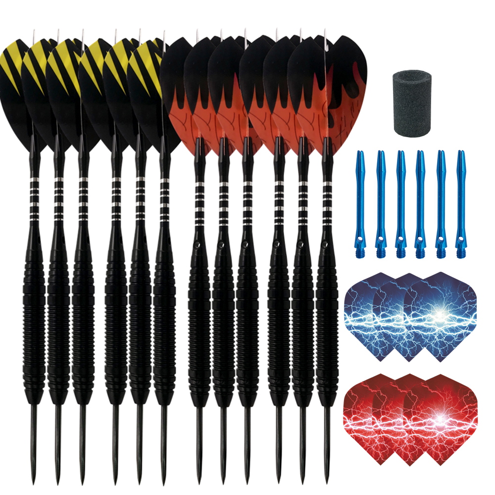 Cavalier Professional Darts Set 21g Steel Tip Darts 3/6pcs Aluminum Shaft Darts Needle Darts For Sporting Game