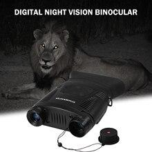 Водонепроницаемый бинокль ночного видения IP65, 2x цифровой зум, ИК-прицел ночного видения с 250 м, полное темное расстояние
