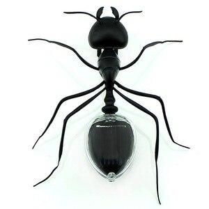 1 шт. муравей тараканов Мощный Робот игрушка Жук Солнечная энергия мощный ed игрушка мини набор Новинка ребенок гаджет игрушка для детей игру...