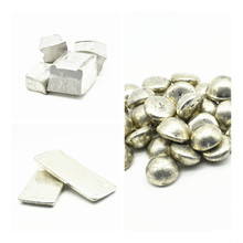 High Purity Tin 5N 4N Sn Ingot 99.999% for Research and Development Element Metal Simple Substance CAS#: 7440-31-5