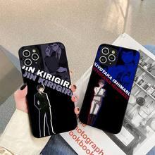DANGANRONPA Phone Case For iphone 5s 6 7 8 11 12 plus xsmax xr pro mini se Cover Fundas Coque