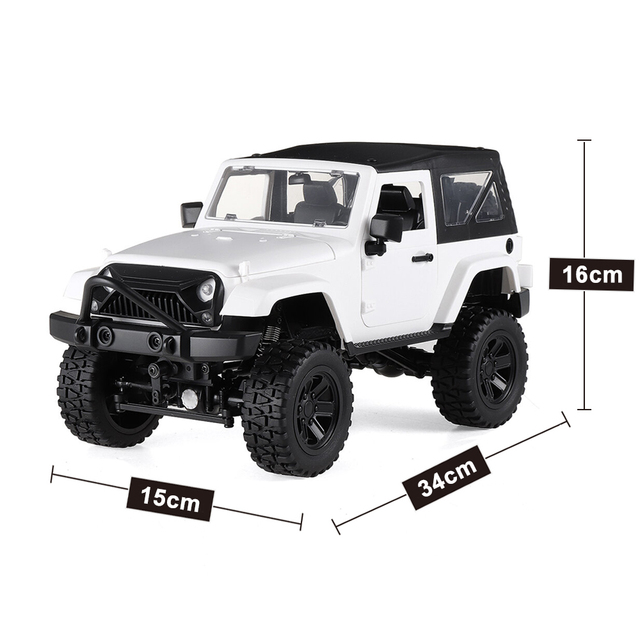 F2 RC Car 1/14 Scale Remote Control Truck Convertible 4WD 2.4GHz Off Road RC Trucks 30km/h High Speed Vehicle Crawler Toys Kid 6