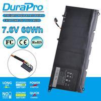 DuraPro 1pc 13 60Wh PW23Y Bateria Do Portátil 7.6V para Dell Xps 9360 XPS Série 13-9360-D1605G 0RNP72 TP1GT 0TP1GT