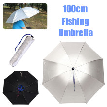 100CM Outdoor Fishing Caps Portable Head Umbrella Hat Anti-Rain Fishing Hunting