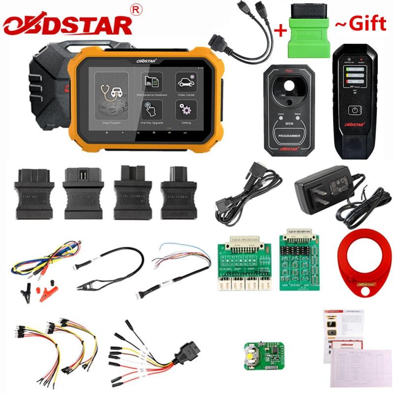 OBDSTAR X300 DP PLUS X300DP PLUS C paquet Version complète 8 pouces tablette Support ECU programmation et pour Toyota Smart Key avec P001