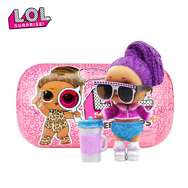 L.O.L. SURPRISE! Original Lol Surprise Capsule Doll 4 Generation DIY Manual Demolition Ball Blind Box Model Doll Girl Toy Gift
