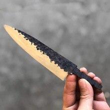 Cuchillo de cocina Damasco vg10, núcleo de acero, 6 pulgadas