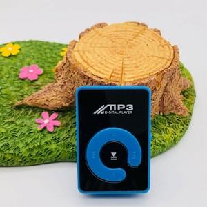 Топ продаж продукта в 2020 зеркальный зажим USB цифровой Mp3 музыкальный плеер Поддержка 1-8 Гб SD TF карта принимаем дропшиппинг оптовая продажа
