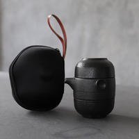 Luwu cerâmica bule gaiwan chá de viagem portátil conjunto chá chinês kung fu conjuntos chá drinkware