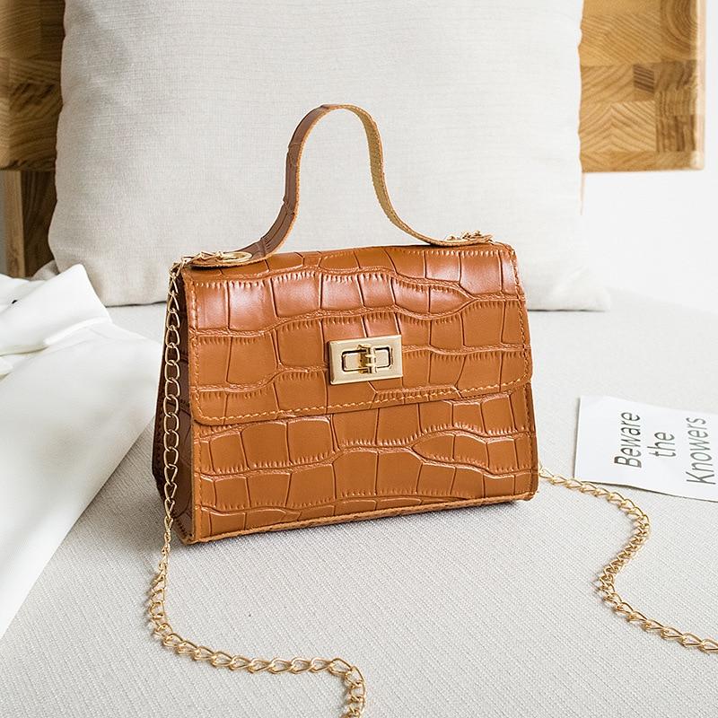 PU modne ženske torbice poletne nove krokodil vzorčne torbice - Torbice - Fotografija 5