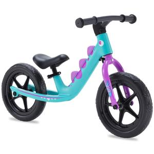 RoyalBaby Boys Girls Balance Bike RAWR 12 Inch Sport Walking Bike 3 to 5 Years Toddler Beginner Rider Training Bicycle