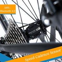 Velocímetro de ordenador de bicicleta ANT + Sensor de cadencia de velocidad de bicicleta y cadencia Ant adecuado para GARMIN iGPSPORT Bryton app sports Sistemas de navegación para bicicleta Deportes y entretenimiento -