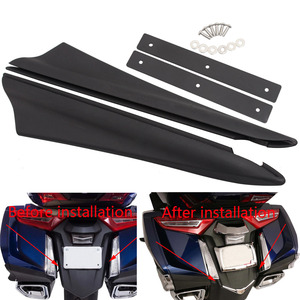 Image 1 - אופנוע מגן בץ אחורי פגוש מילוי רצועות עבור הונדה זהב כנף GL1800B DCT GL1800BD GL1800D סיור GL1800 2018 2019