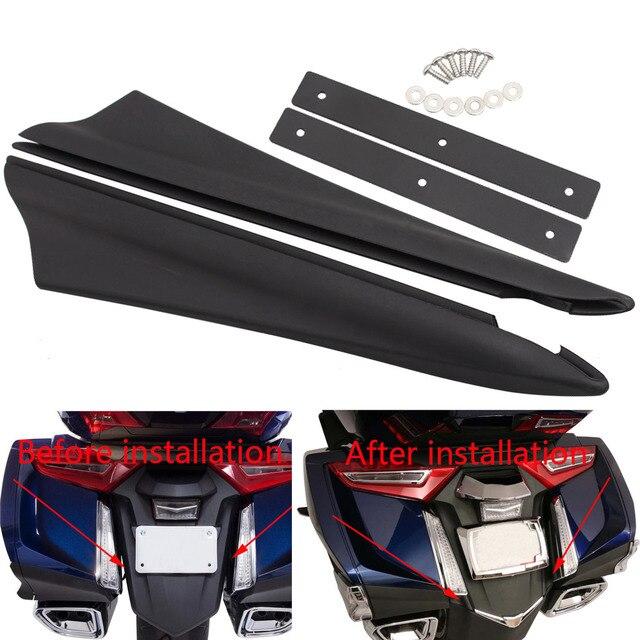 אופנוע מגן בץ אחורי פגוש מילוי רצועות עבור הונדה זהב כנף GL1800B DCT GL1800BD GL1800D סיור GL1800 2018 2019