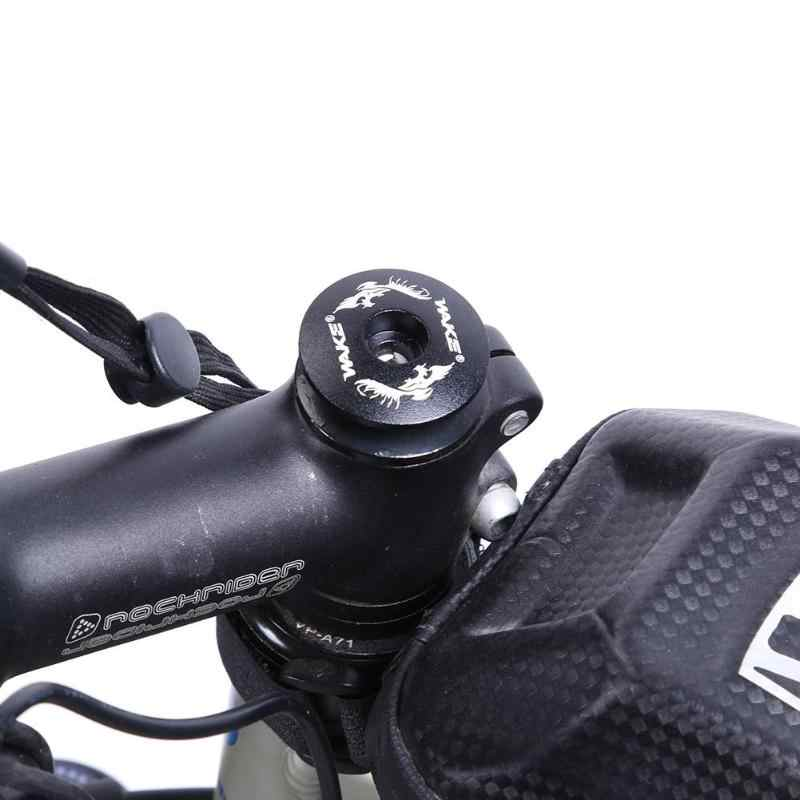 Headset Mountain Stem Top Cap Cover Road Bike Bicycle Spider Pattern Round