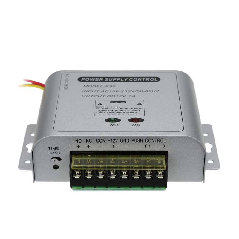 12V 5A Universal Power Supply For Access Control System With High Quality AC90V-260V